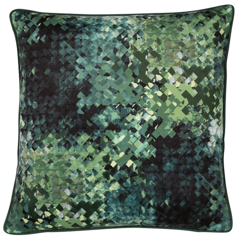 Malini Cushion Collection | Hudson Green Cushion | WonderWall
