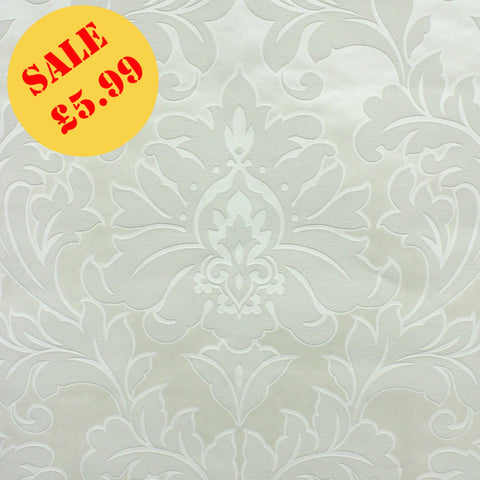 SALE Graham & Brown Wallpaper | Majestic Cream | 32-379