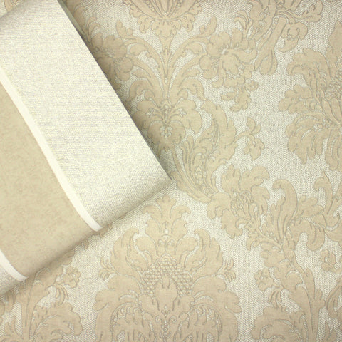 Belgravia Decor Wallpaper | San Remo Damask Gold | GB6527