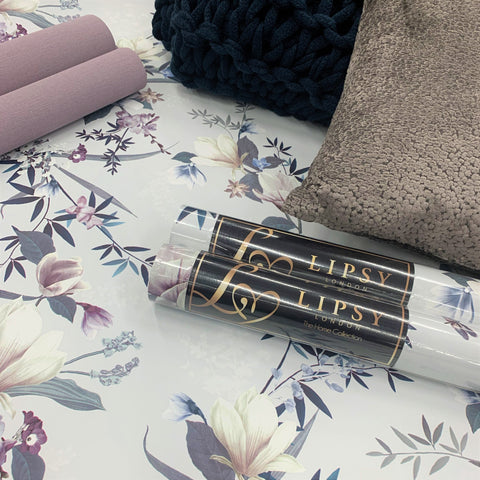 Lipsy Lotus Grey Wallpaper | Muriva 144052