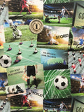 Fine Decor | Novelty Football Collage | FD41915