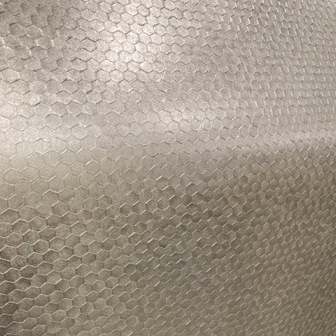 Hexagon Texture Champagne