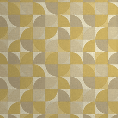 Grandeco Life Wallpaper | Rosalie Geo Yellow | IW3403