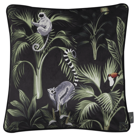 Juniper Jungle Love Cushion | Malini Designer Cushions