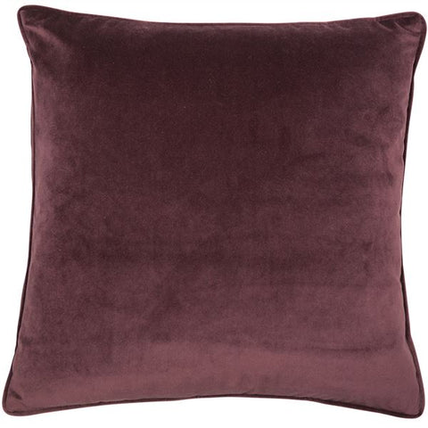 Luxe Aubergine Cushion | Feather Filled | Malini Designs