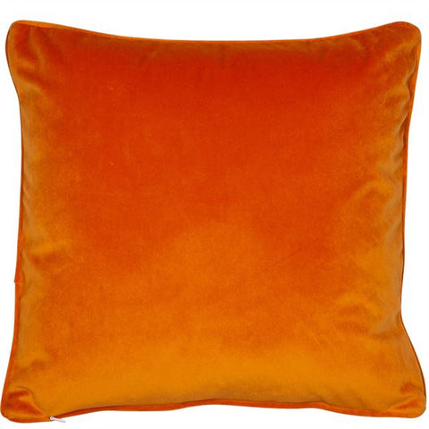 Luxe Orange Cushion | Feather Filled | Malini Designs