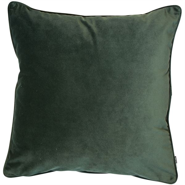 Luxe Pine Green Cushion | Feather Filled | Malini Designs