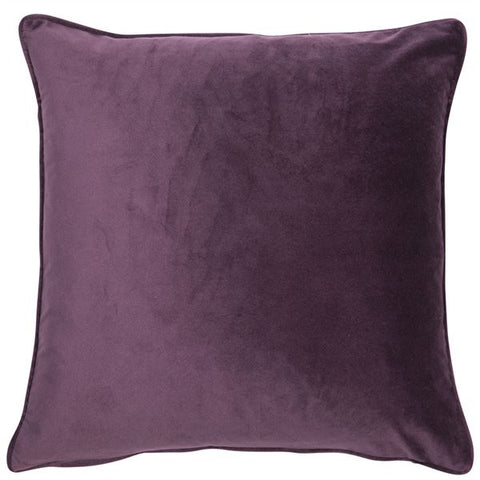 Luxe Purple Cushion | Feather Filled | Malini Designs