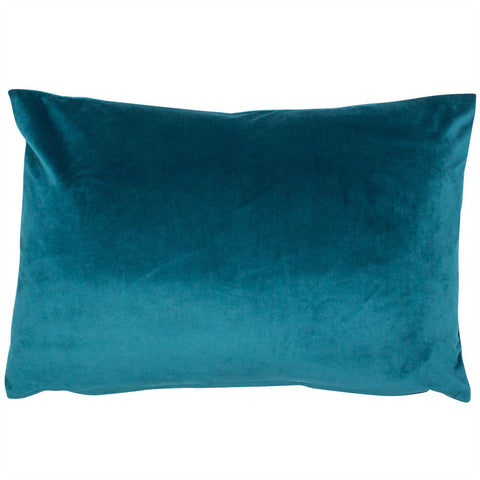 Malini Cushion Collection | Luxe Rec Teal Cushion | WonderWall