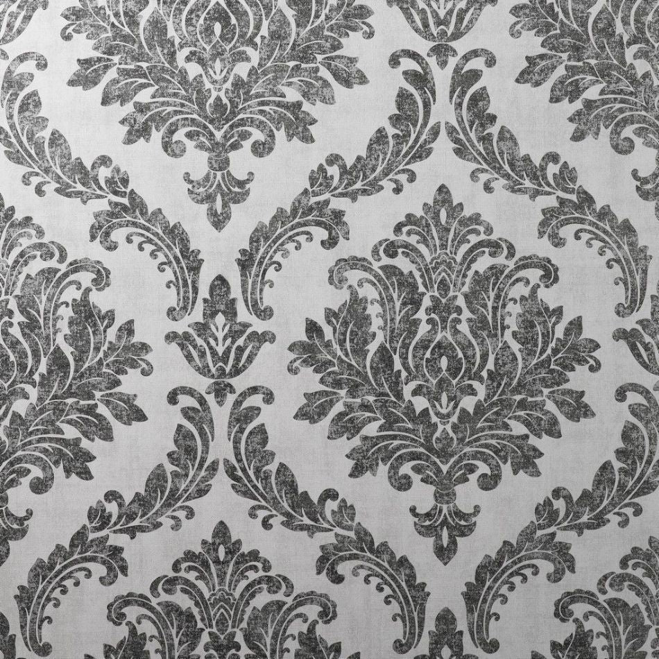 Tulsa Damask Grey Wallpaper | CWV M1534
