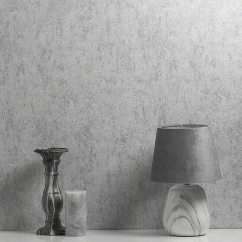 Tulsa Texture Grey Wallpaper | CWV M1536