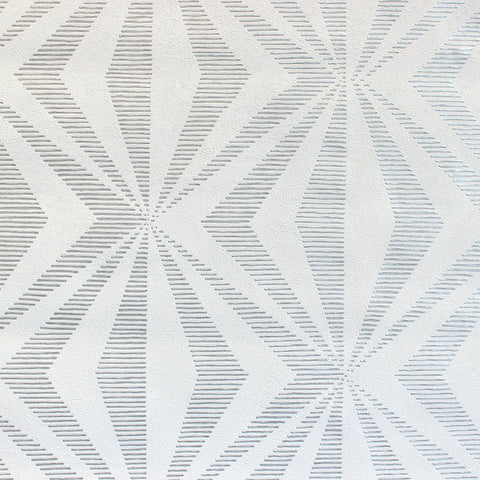 Diamond Geo Silver Grey | CWV Wallpaper M1588 | FREE SHIPPING
