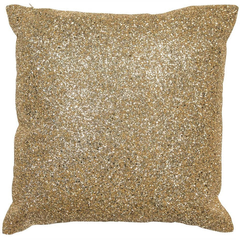 Madison Sparkle Gold Cushion | Glitter Sparkle | Malini Designs