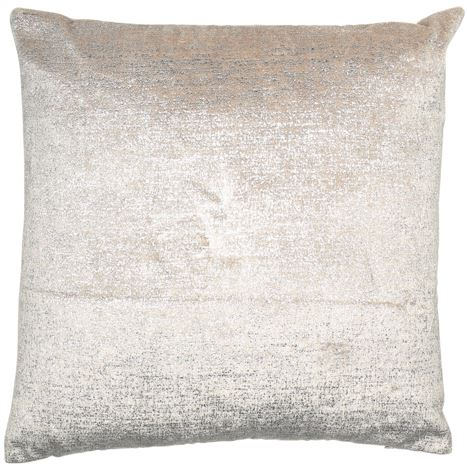 Malini Cushion Collection | Metallica Silver Cushion | WonderWall