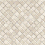 Design id Natural Faux 2 Wallpaper | Trellis Tile Beige | NF232082