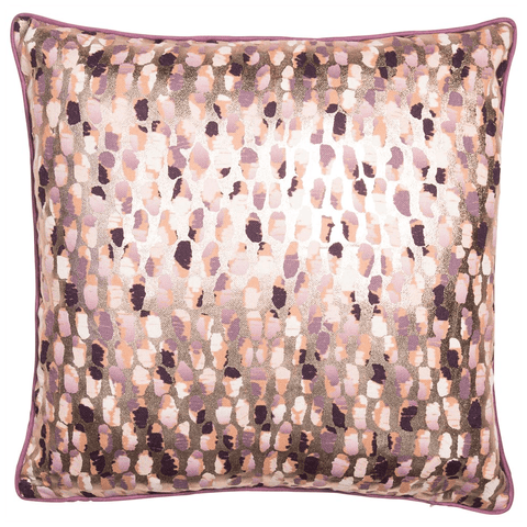 Malini Cushion Collection | Nilufa Putty Pink Cushion | WonderWall