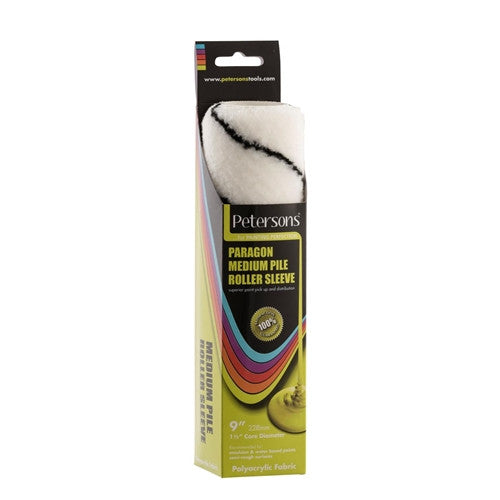 Petersons - Paragon Medium Pile Roller Sleeve 9 x 1.5