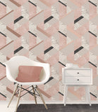 Fine Decor Wallpaper | Marblesque Geo Blush | FD42303