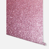 Sequin Sparkle Soft Pink Wallpaper | Arthouse Glitters Collection