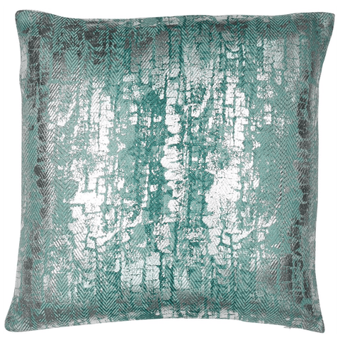 Malini Cushion Collection | Titanium SeaFoam Cushion | WonderWall