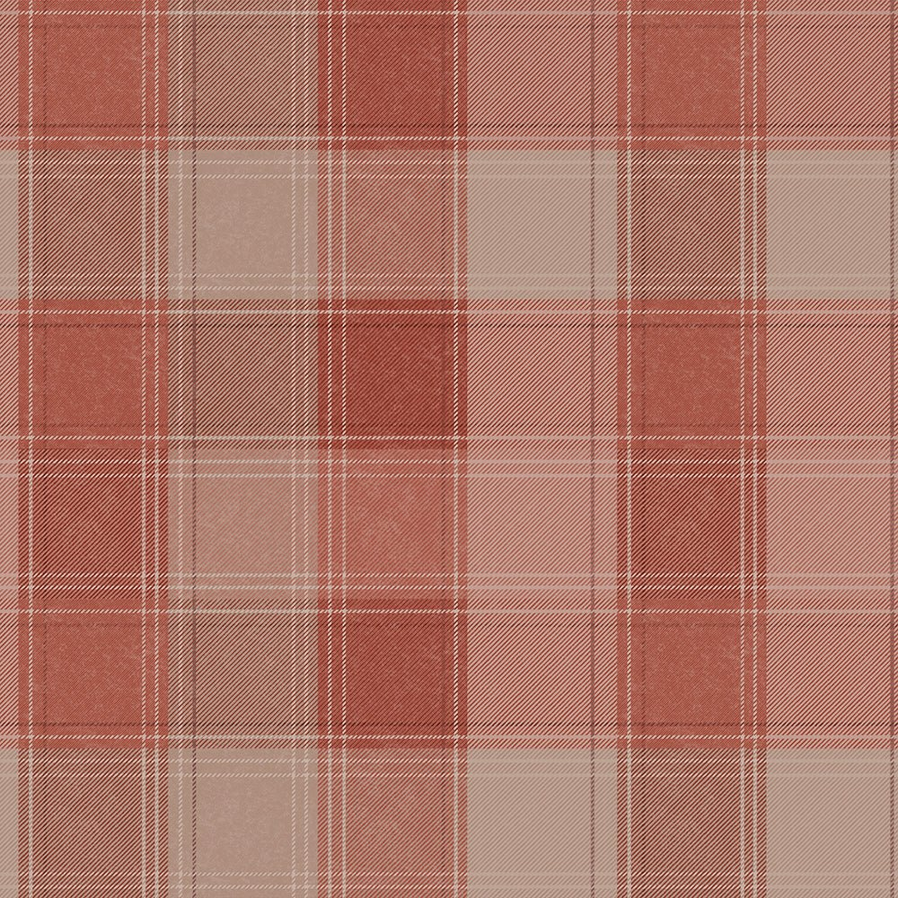 Arthouse Wallpaper | Urban Check Rust | 904102