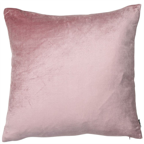 Malini Cushion Collection | Velveteen Blush Pink Cushion | WonderWall