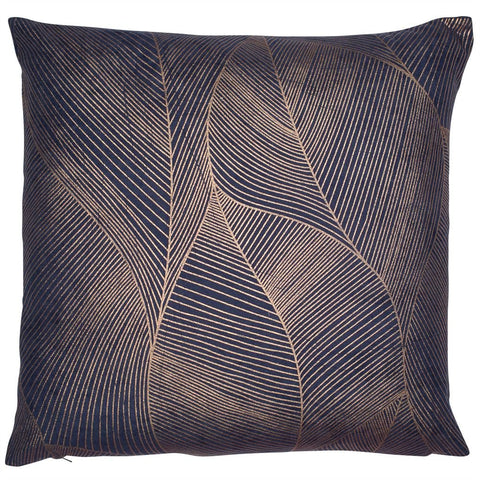 Venus Copper Foil Cushion | Feather Filled | Malini Designs