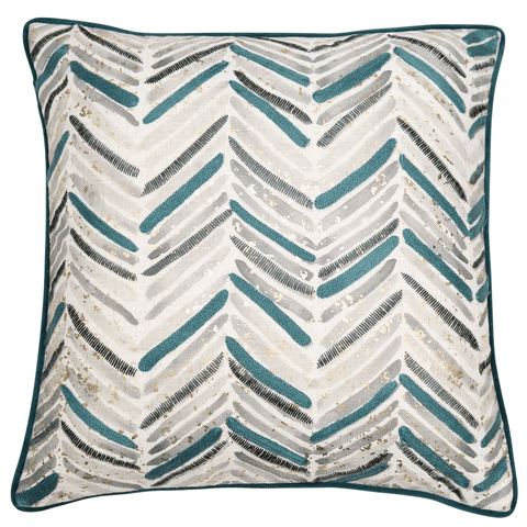Malini Cushion Collection | Verdi Teal Cushion | WonderWall