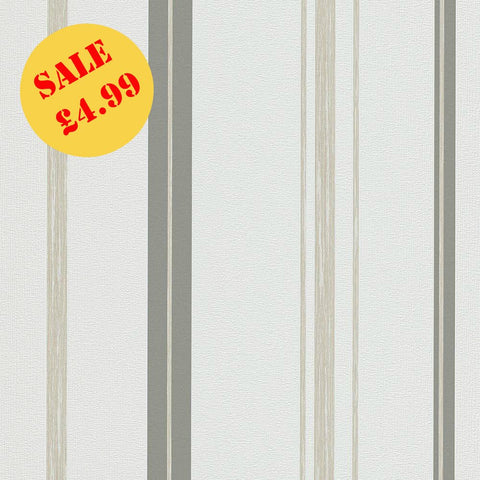 MakeUp Stripe Grey/Beige