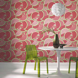 Ranch Wallpaper | Watermelon Red/Green | WonderWall by Nobletts