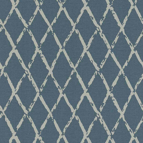 Rasch Wallpaper | Cato Diamond Petrol | 805437