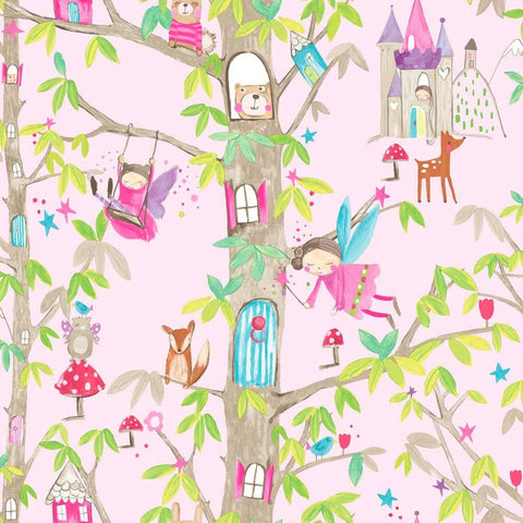 Arthouse Imagine Wallpaper - Woodland Fairies - 667000