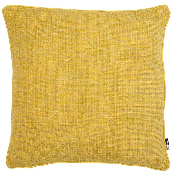 Zack Mustard Cushion | Yellow Mustard | Malini Designs