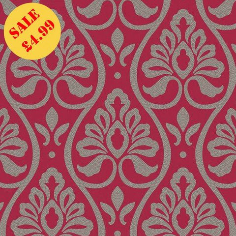 Arthouse Imagine Wallpaper | Debussy Red | 888304