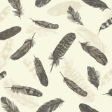 SALE Arthouse Wallpaper | Plume Black/Cream | 252800