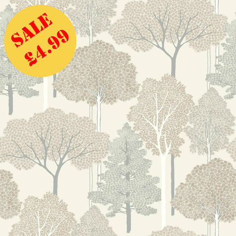 SALE Arthouse Wallpaper | Ellwood Neutral | 670001
