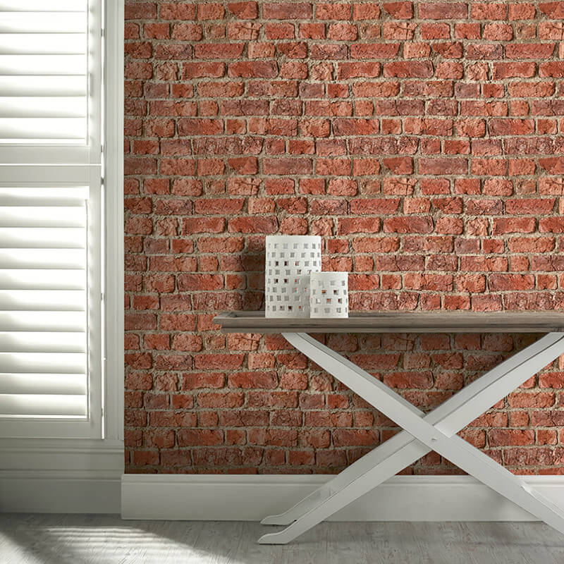 Arthouse Opera Wallpaper | Urban Brick Red | 696600