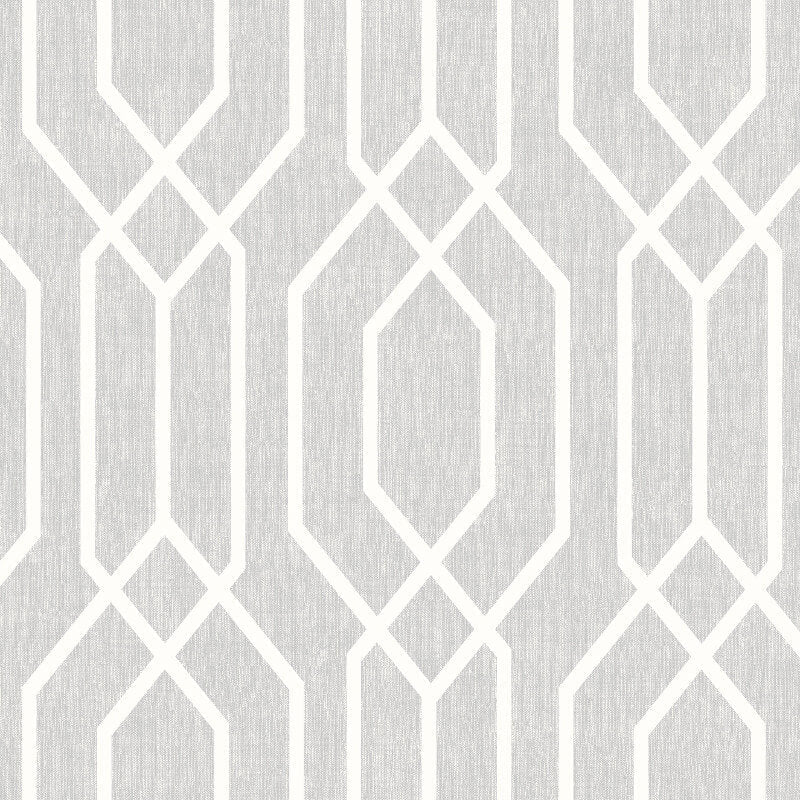 Arthouse VIP Wallpaper | New York Geo Light Grey | 908300
