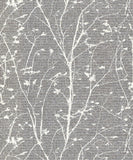 SALE Belgravia Wallpaper | Ravello Branch Pewter | GB1702