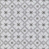Erismann Wallpaper | Vintage Tile Grey | 6366-15