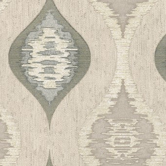 Belgravia Eleganza Wallpaper | San Marino Wave Charcoal/Cream | GB3707
