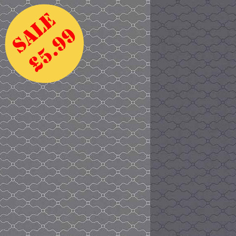 SALE Erismann Wallpaper | Darling Duo Stripe Grey | 6481-08