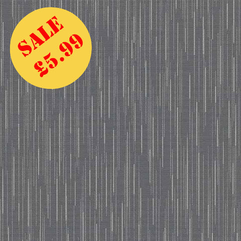 SALE Erismann Wallpaper | Darling Linear Charcoal Grey | 6484-10