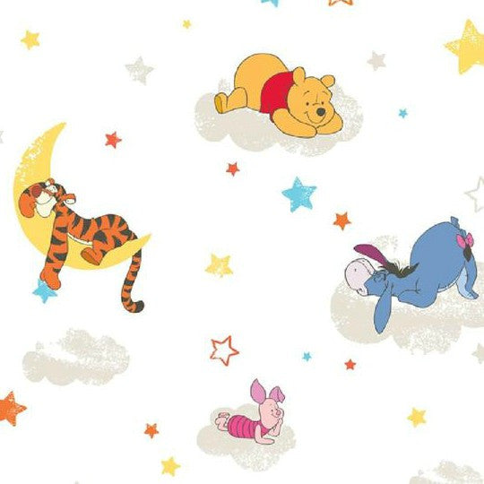 Winnie The Pooh Rise And Shine Wallpaper Df70799 Wonderwall By Nobletts