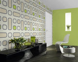 March Wallpaper Clearance | Good Vibrations Retro Lime | 777819