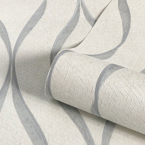 Belgravia Decor Wallpaper | Paolo Silver/Cream | GB3801