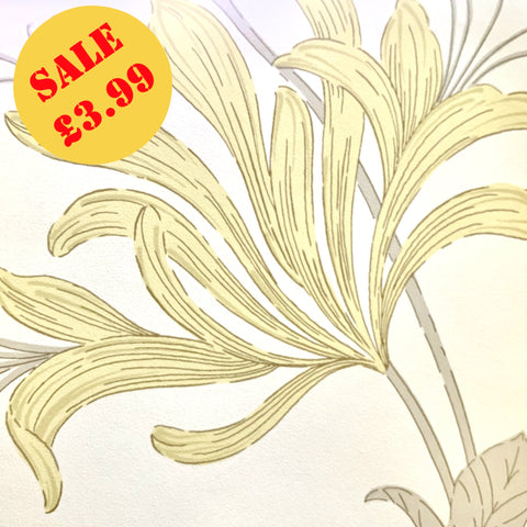 SALE CWV Wallpaper | Amelie Camomile Yellow | M1302