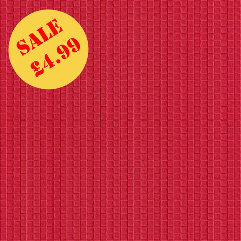 SALE Rasch Wallpaper | Damier Cube Red | 415179