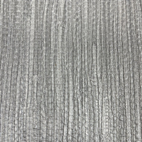 Grasscloth Texture Silver