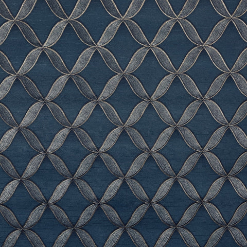 Stitch Lattice Blue/Gold | Design id Wallpaper | FT221227